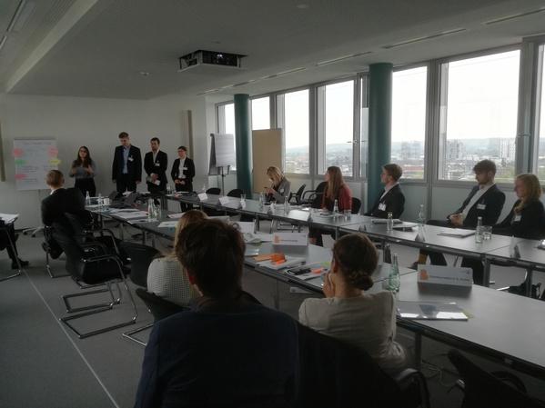 Workshop bei Roland Berger in Kooperation mit Wirtschaftschemikern aus Düsseldorf